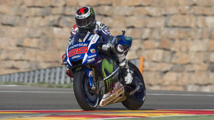 Jorge Lorenzo : the definition of riding perfection.  Photo : Getty Images via Foxsports.com