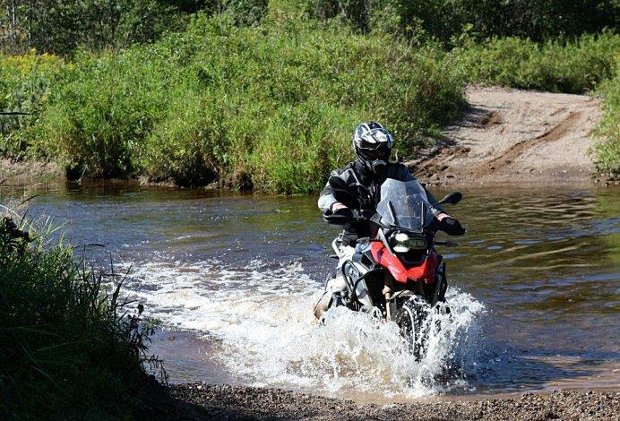 BMW Longtermer update water crossing