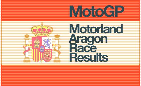 MotoGP – Motorland Aragon Race Results