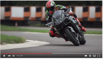 Video Tom Sykes Vs The Kawasaki H2R And