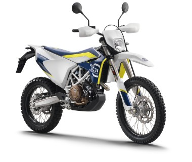 Husqvarna's duallie is likely going to attract lots of interest.