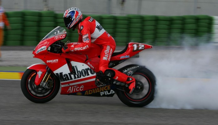 Ducati's emission problems are of a different kind