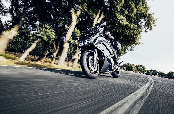 Yamaha updates the FJR1300
