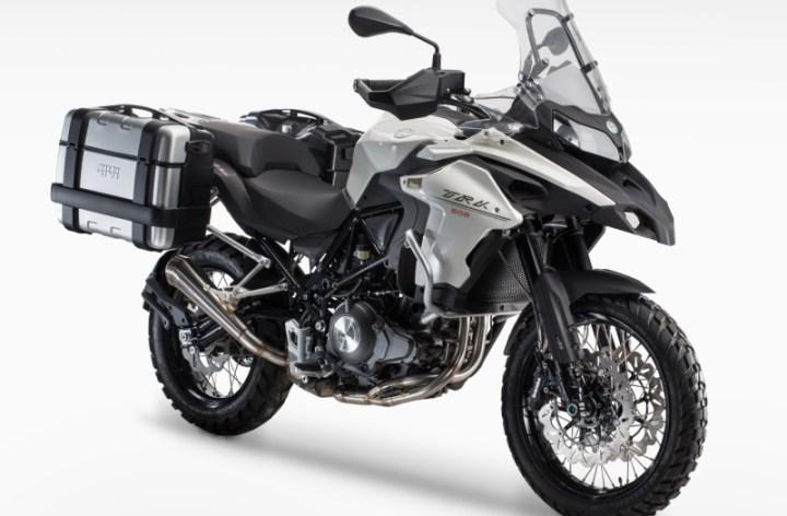 EICMA: Benelli comeback: TRK502 adventure bike