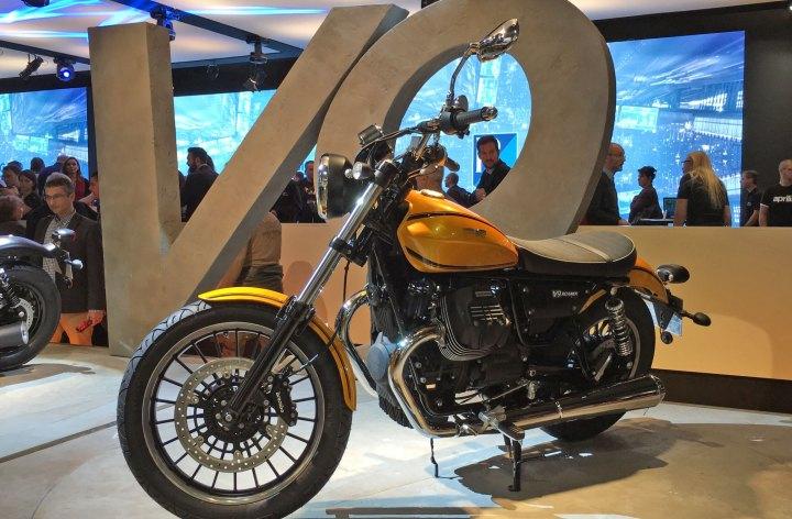 EICMA: Moto Guzzi V9 details