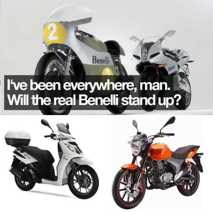 So many product directions, and so little success. Benelli has been everything from ultra exotic superbikes to imported Chinese commuters. The latter has been popular in Vietnam and India, at least.