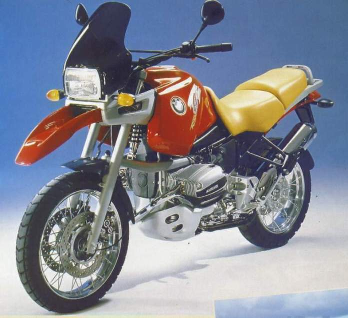 1994's BMW R1100 GS had a face that only a mother could love. Fortunately, it did the job.