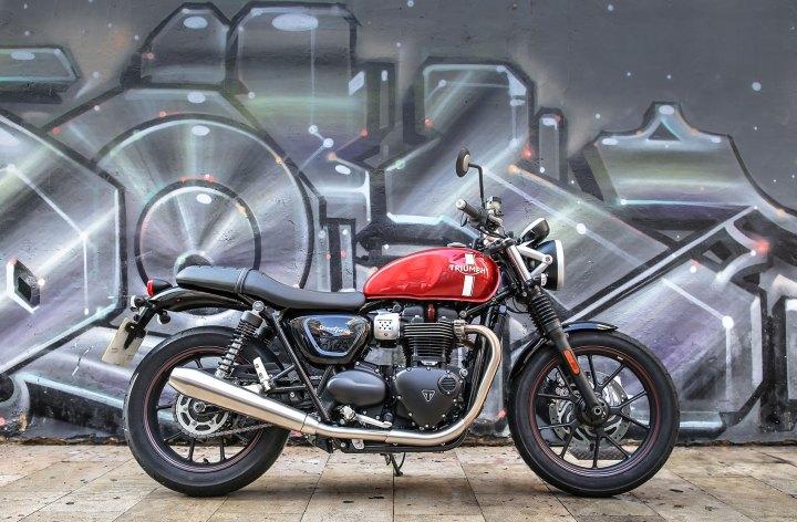 Launch: Triumph Street Twin riding impression