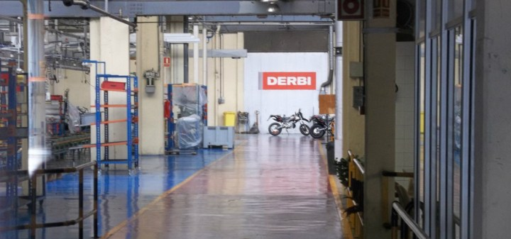 Piggy closed the Derbi plant outside Barcelona in 2013. The factory was where grand prix championship winning racers and hundreds of thousands of commuters were made.
