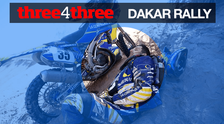 Three4Three – The future of the Dakar Rally