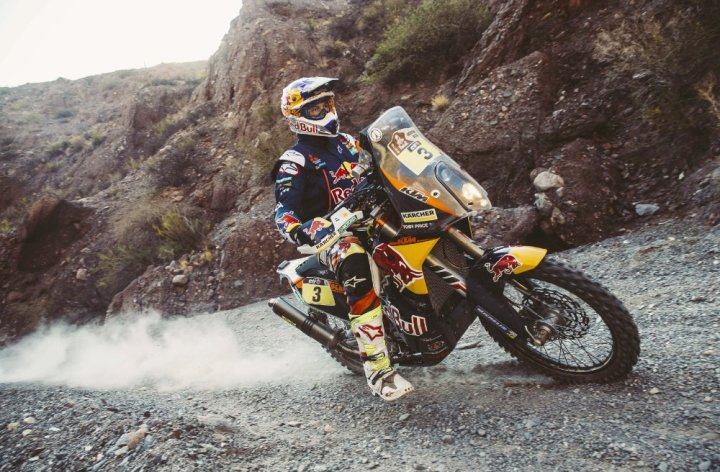 Pablo Quintanilla is FIM's Cross Country Rally champ