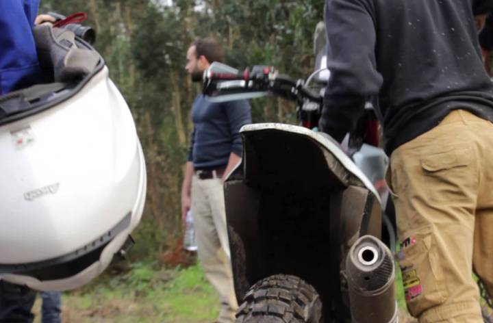 "Video: AJP PR7 adventure bike looks like a fun ""work in progress"""