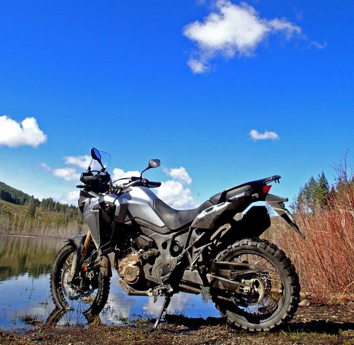 A pause at a local lake. Photo: Rob Harris