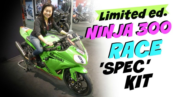 Video: See the CSBK-spec Kawasaki Ninja 300