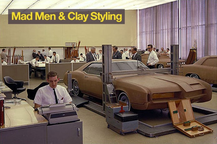 Inside General Motors in the 1960's when the cars of the future were modelled by men in crisp shirts and black ties.