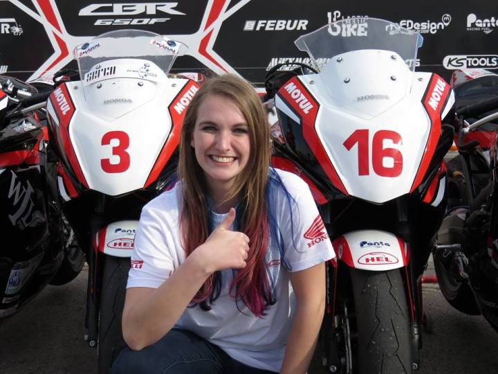Stacey Nesbitt finishes second in class at European Junior Cup