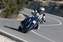 Last year's Suzuki launch saw Rob aboard a powerful naked bike, one of his favourite street rides.