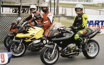 Another track day, this one back in 2001.