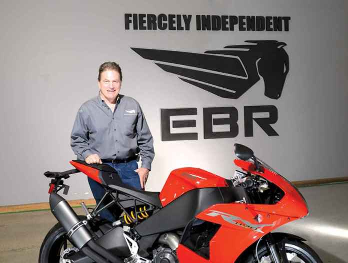 Erik Buell is less a man that a motorcycle force of nature.