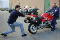 Returning test bikes wasn't always something 'Arris did willingly ...