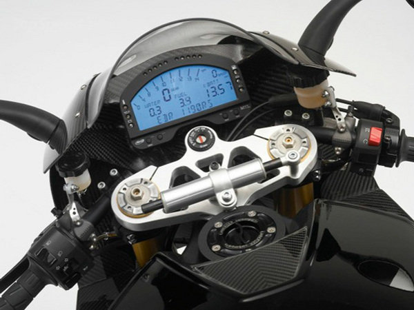 Not cheap. 2011 EBR 1190 RR looks every bit worthy of its lofty price tag.