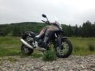 Honda CB500X conquers smooth, round rocks and tiny shrubs