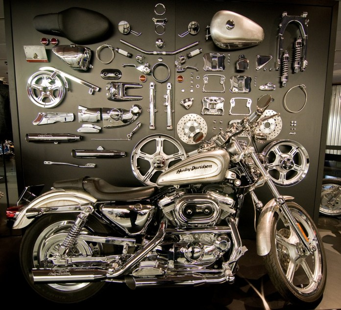 Official Harley-Davidson accessories, engineered to work right, and available right at the dealer make happy customers.