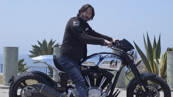 Here's what Keanu Reeves is up to these days