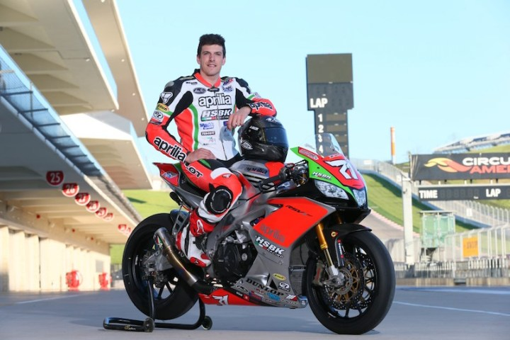 Italian roadracing star Claudio Corti to challenge CSBK finale