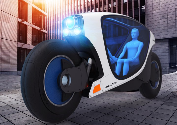 Bombardier draws plans for self-driving motorcycle