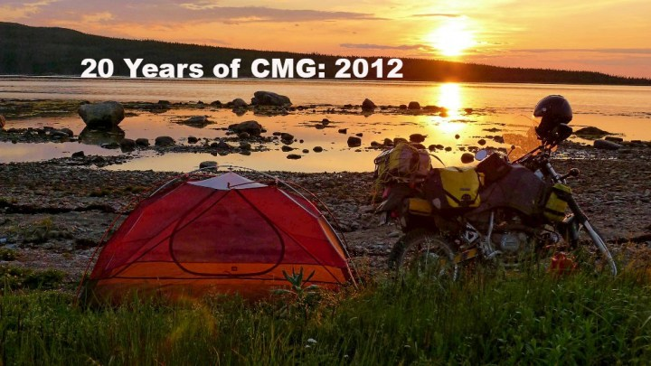 20 Years of CMG: Labrador on a rat KLR