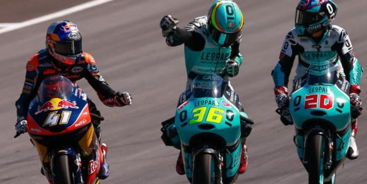 Race results: Austrian MotoGP
