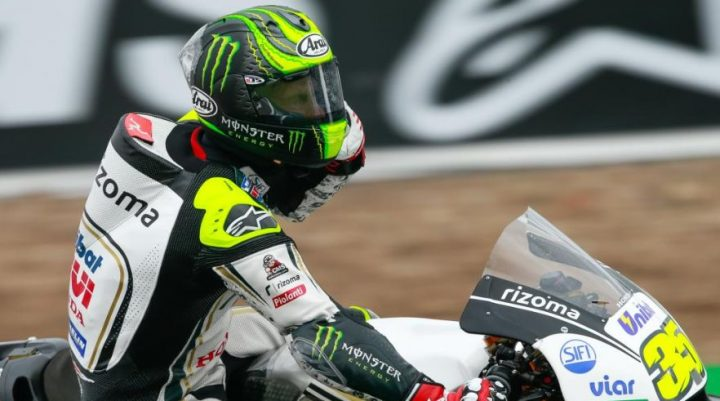 Cal Crutchlow is having a great season, looking happy for a change.
