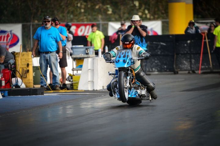 New 8.88 class for Canadian Motorcycle Drag Racing Association