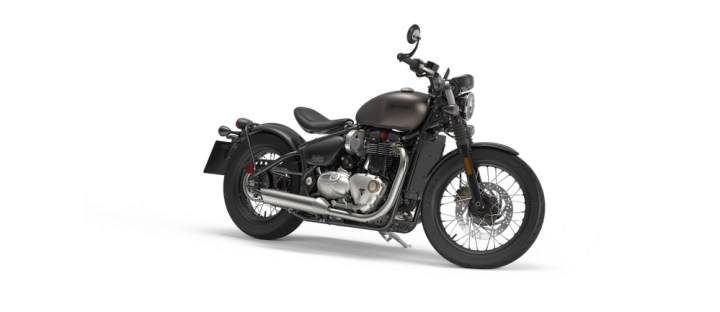 Report: Bonneville Bobber Black coming soon