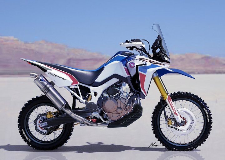 EICMA: Honda shows CRF1000L Enduro Sports concept bike