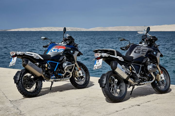 EICMA: Tweaks to the BMW R1200 GS