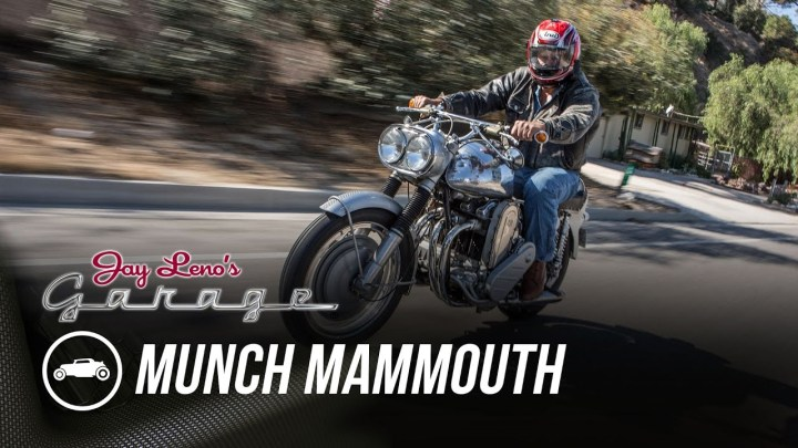 Munch Mammoth: Jay Leno gives us the details