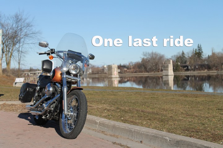 The last ride before winter