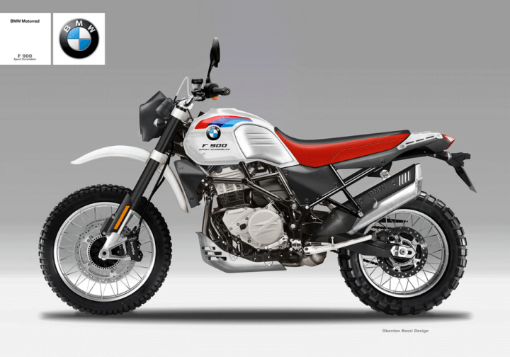 Check Out This Bmw F900 Scrambler Sports Concept Sketch