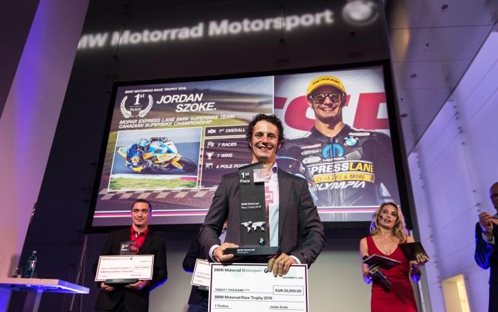 Jordan Szoke wins BMW Motorrad Race Trophy