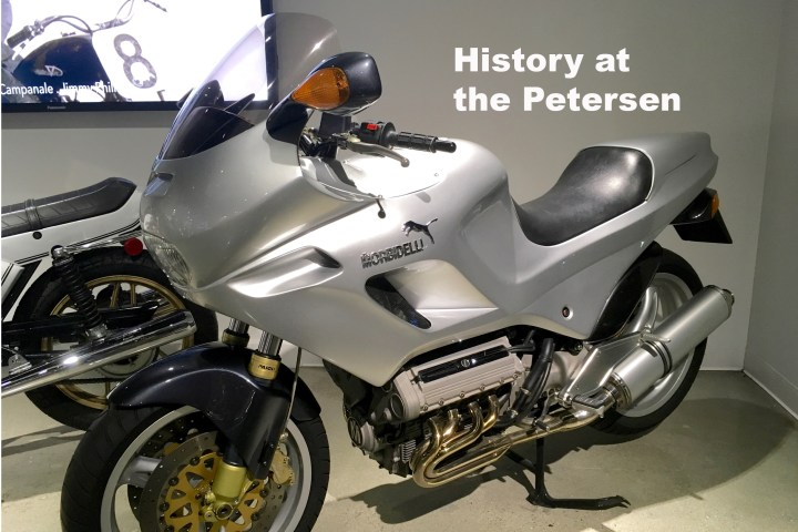 The bikes of the Petersen Museum