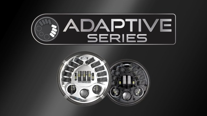 Aftermarket adaptive headlight available for Victory