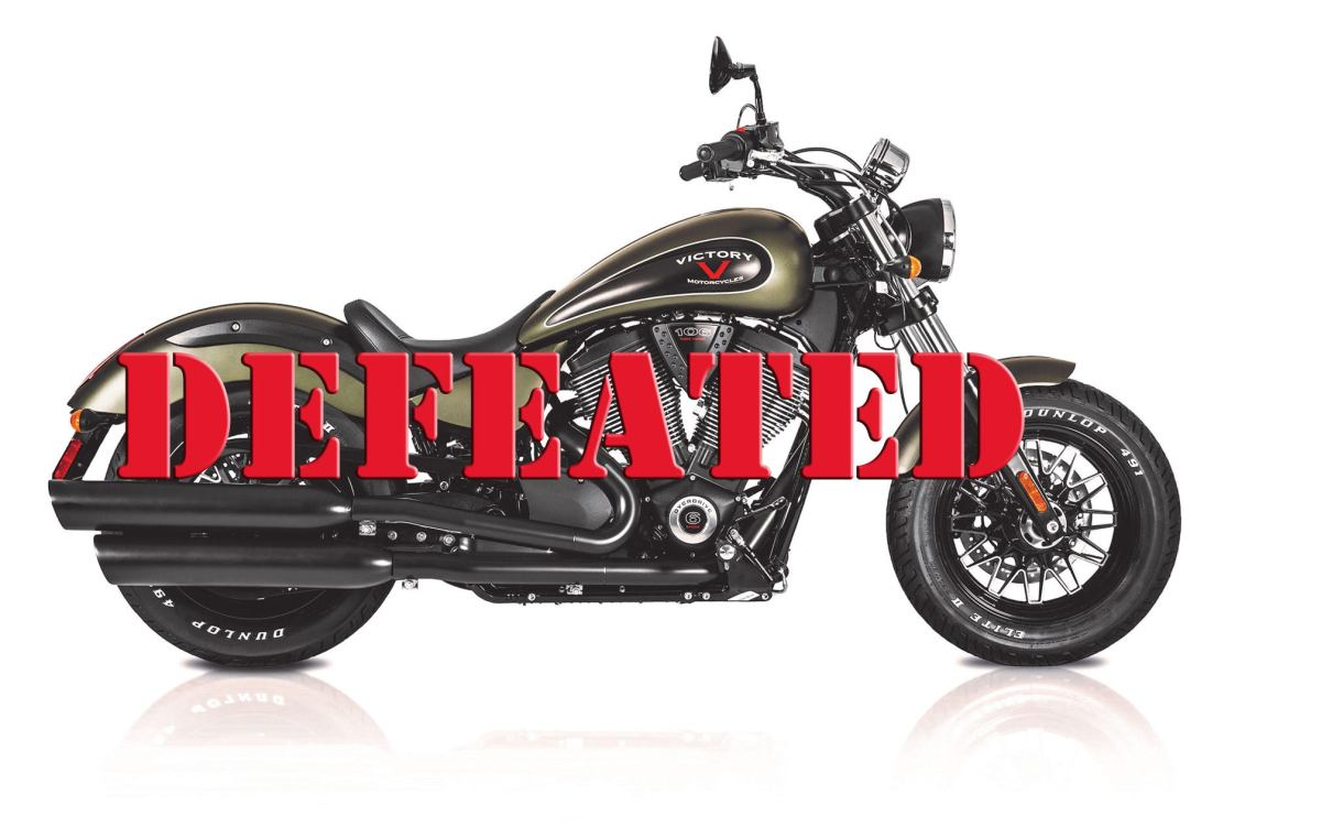 Victory motorcycles in defeat: The aftermath