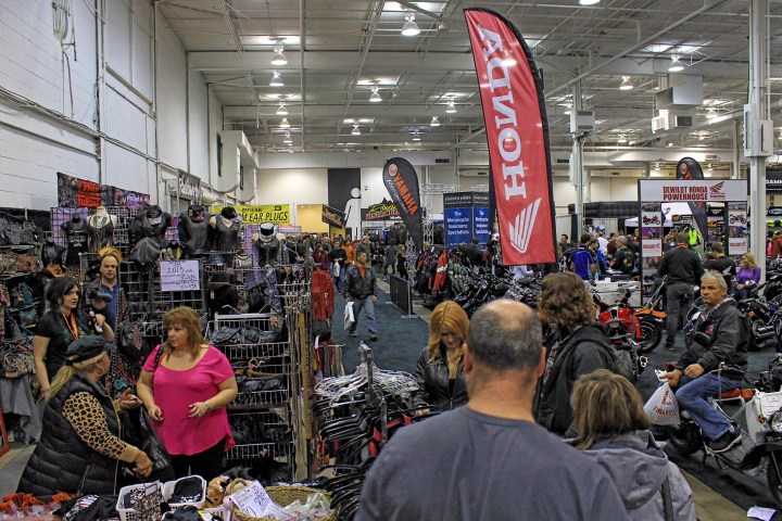 Edmonton Motorcycle Show runs this weekend