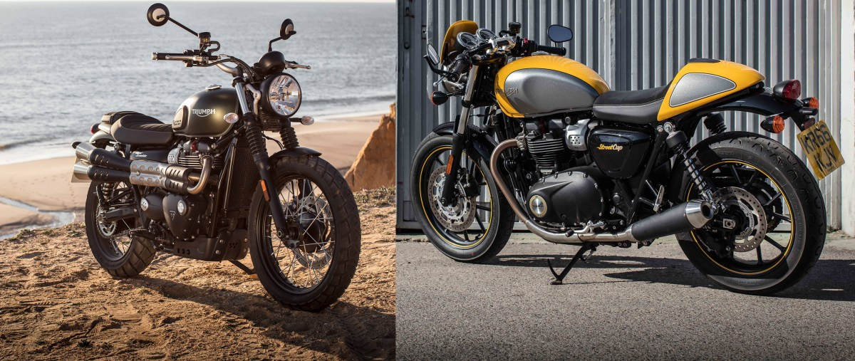 First rides: 2017 Triumph Street Cup and Street Scrambler