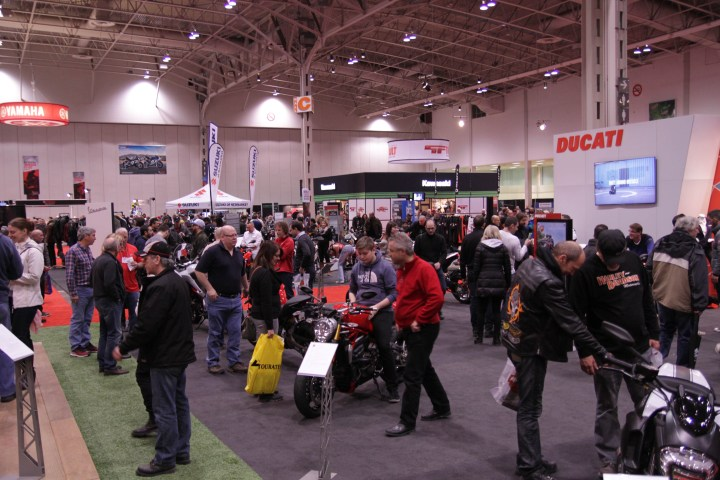 Vancouver Motorcycle Show runs this weekend