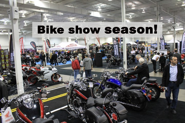 Take me out to the bike show