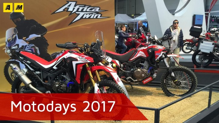 Here's a Honda Africa Twin rally edition you can't buy in Canada