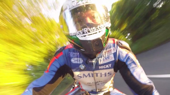 Video: The Isle of Man TT's Mountain Circuit, at speed